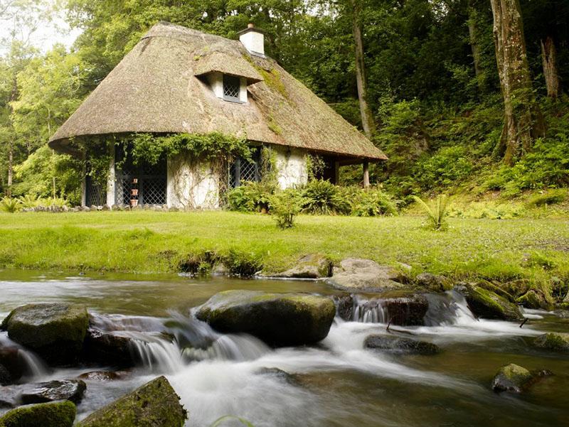 Outdoor Kilkenny Kilfane Glen Waterfall 01
