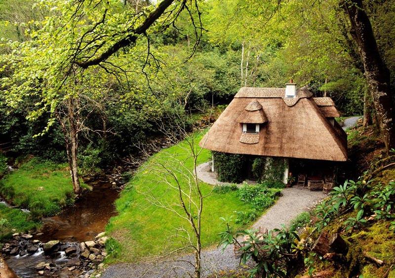 Outdoor Kilkenny Kilfane Glen Waterfall 02