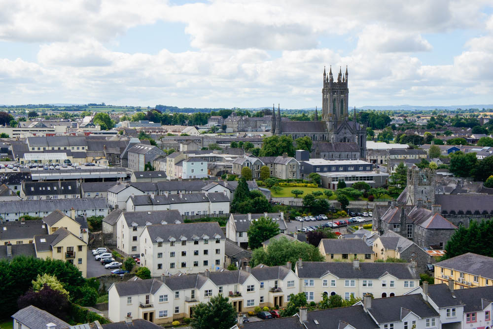 View From Canices Round Tower Kilkenny