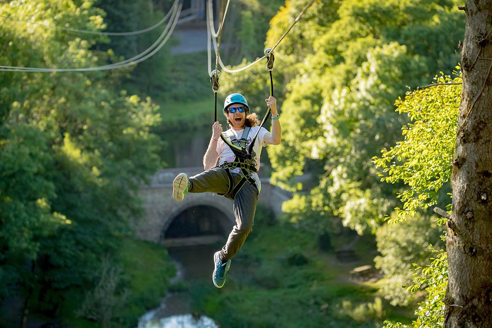 Zipline At Castlecomer Discovery Park 05