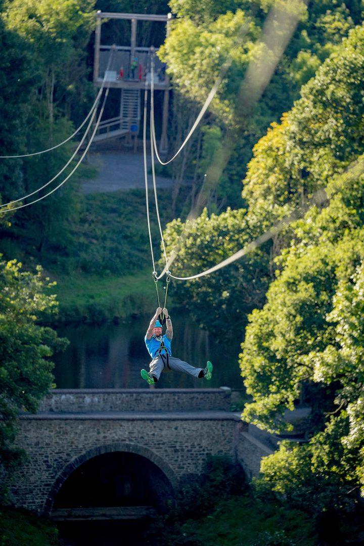 Zipline At Castlecomer Discovery Park 06