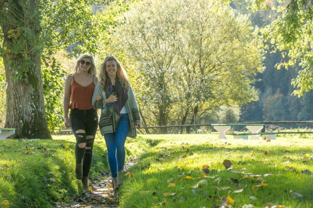 Girls Walking in Kilkenny