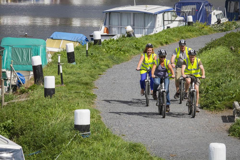 Outdoor Kilkenny Barrow Towpath Cycling
