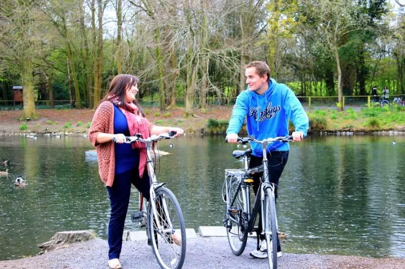 Outdoor Kilkenny Canal Walk Cycling