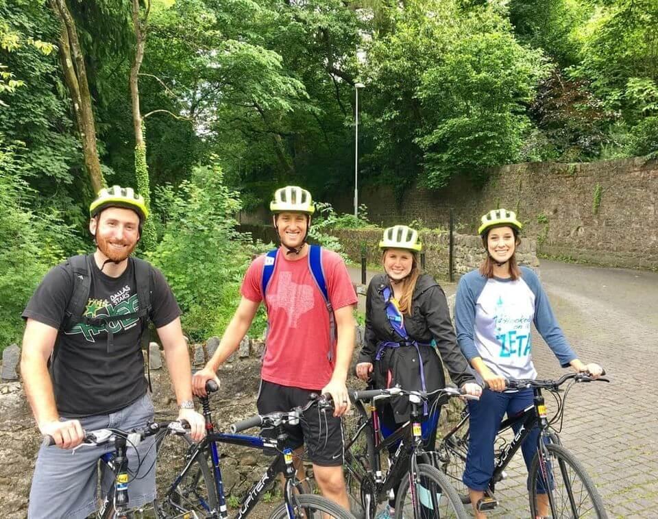 Outdoor Kilkenny City Centre Cycling